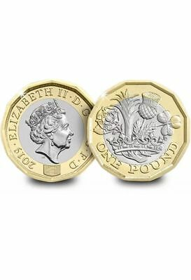 2019 Royal Mint Nations Of The Crown £1 coin Brilliant Uncirculated