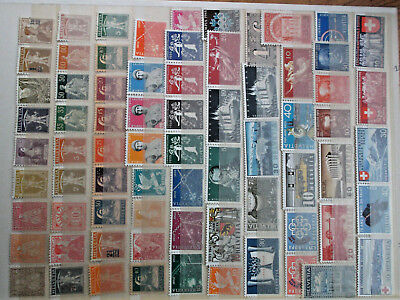 timbres suisse lot 1079