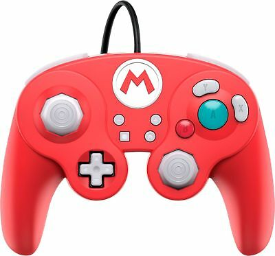 PDP - Wired Fight Pad Pro Mario Controller for Nintendo Switch - Red