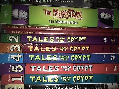 Tales from the Crypt: The Complete Seasons 1-7 (DVD, 2008, Minus Season 7
