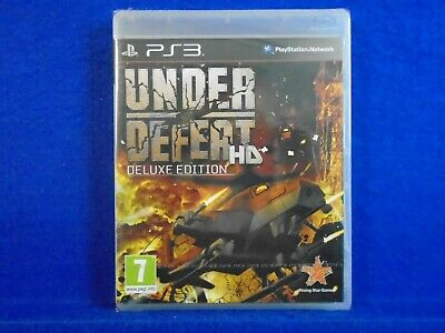 ps3 UNDER DEFEAT HD Deluxe Edition *NEW* +Soundtrack CD PAL ENGLISH REGION FREE