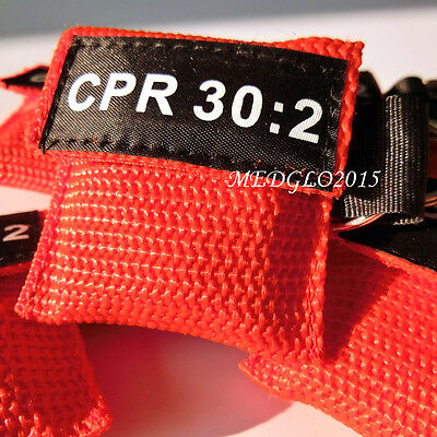 100pcs CPR MASK WITH KEYCHAIN CPR FACE SHIELD AED RED POUCH CPR 30:2