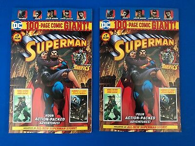 Superman 7 (Wal Mart 100 Page Giant) Controversial death of Lois Lane Issue x2