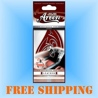 Leather Air Fresheners for Car or Home