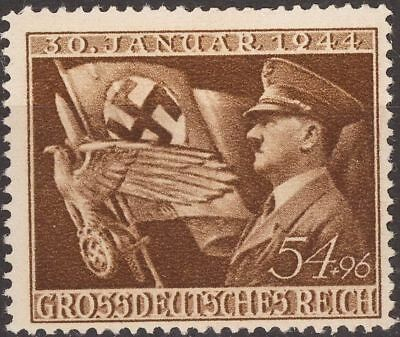WW2 German Reich stamp 1944 Nazi Assumption power - Hitler & Nazi standard MNH