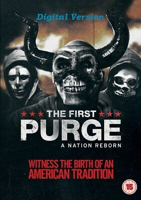 The First Purge [Digital Version Only] UK Seller
