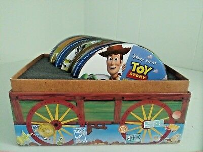 Disney Toy Story 1, 2, & 3 !!!   Ultimate Toy Box Collection DVD & Blu-Ray.