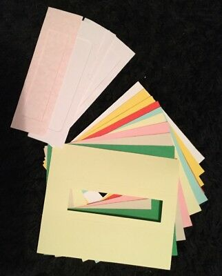 Pack Of 15 - 3- Fold Aperture Cards To make Bookmarks