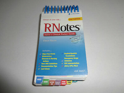 Med Surg Notes Nurse S Clinical Pocket Guide By Tracey Hopkins