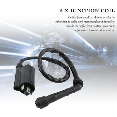 Motorcycle Set OF 2 Ignition Coil For KAWASAKI EX500 NINJA 500 500R 1987-2009 M2
