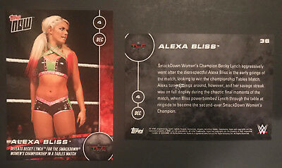 WWE Topps Now Singles Choose Your Card Many Available 2016 & 2017 Pick Any