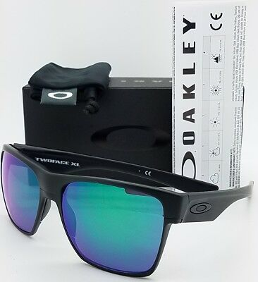 9492c20a53e NEW Oakley Twoface XL sunglasses Black Jade Iridium 9350-08 purple  AUTHENTIC NIB