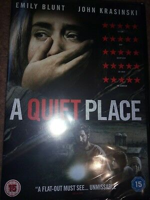A Quiet Place Horror Dvd Emily Blunt New