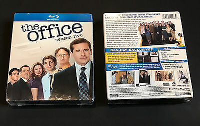 The Office - Season Five Blu Ray (2009) * New * Sealed 4-Disc Set 5 Fifth