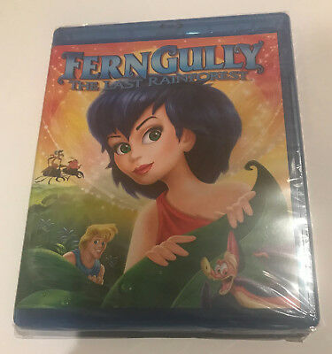 Ferngully: The Last Rainforest Blu-Ray (2012) * New * Sealed Fern Gully 1992