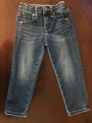 Hudson Baby Toddler Girl Skinny Jeans Sz 2T Distressed
