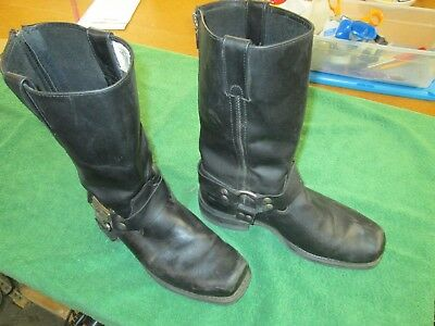 0c939730045be MILWAUKEE MOTORCYCLE CLOTHING Co Womens Boots Size 7 Wide Fit ...