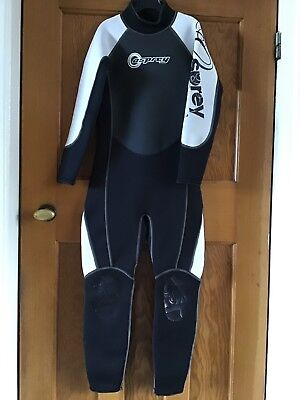 Osprey Wetsuit OSX Series (116cm from neck to leg cuff)Great Condition