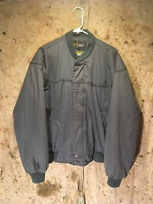 VINTAGE Derby OF San Francisco Bomber Jacket W/Paisley Lining Medium 38-40