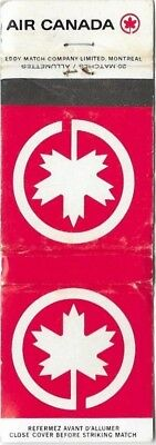Vintage Air Canada Maple Leaf Matchbook. Uk Dispatch.