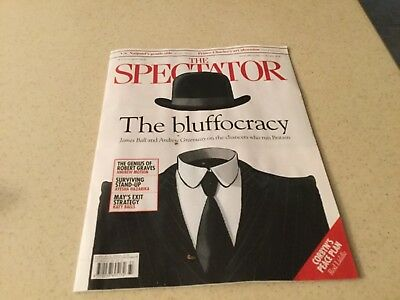 New THE SPECTATOR Magazine 18 August 2018 - The Bluffocracy