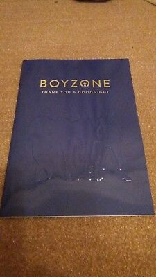 Boyzone Thank You & Goodnight Tour Programme