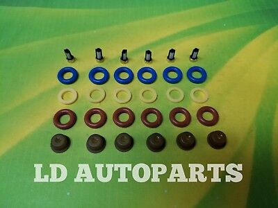 PINTLE CAPS FILTERS SPACERS FORD 3.9L 4.9L V6 FUEL INJECTOR REPAIR KIT O-RINGS