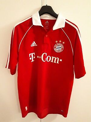 Adidas Bayern Munich Home Shirt 2006/7 Men's Size Large