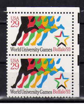 USA 1993 N°2344 World University Games Buffalo '93