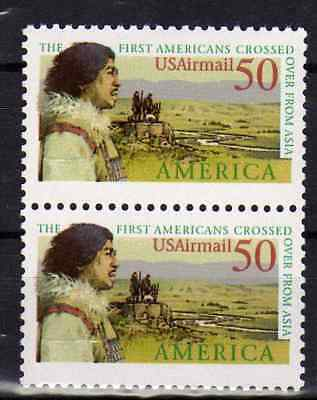 USA 1991 N°2193 Pre-Columbian America Issue Bering land bridge