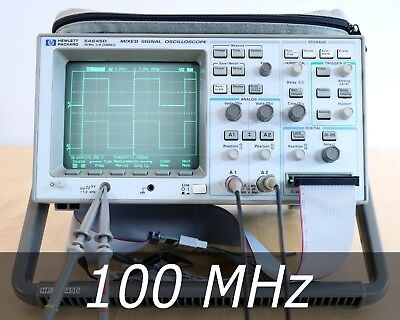 HP / Agilent 54645D 2+16 channel Mixed Signal Scope + A/D Probes. Very clean