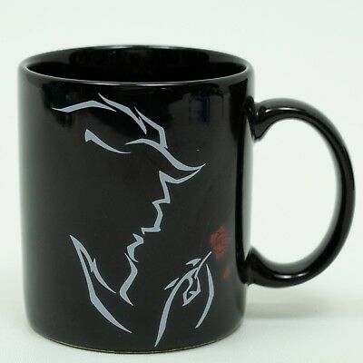 Disney's Beauty and the Beast The Broadway Musical ceramic mug cup 10 oz black