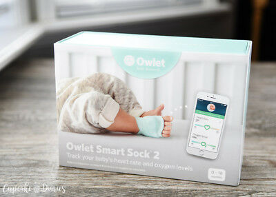 BRAND NEW Owlet BM03NNBBYC Smart Sock 2 Baby Monitor