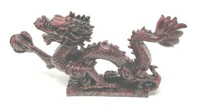 Fortune Ball Red Money Dragon Feng Shui Chinese Lucky Charm of Prosperity
