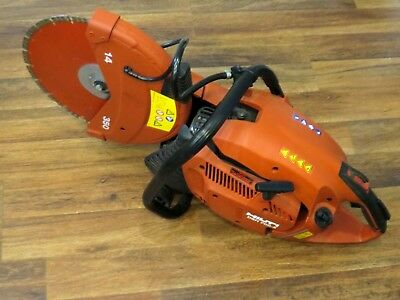 HILTI DSH 700-X GAS Concrete Cut-OFF Saw With Blade Ships Free! E