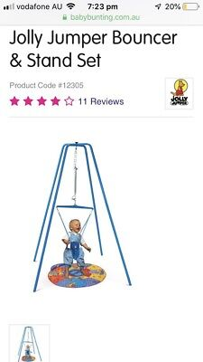 jolly jumper With Stand +door Clamp And Music Mat ( Full Set)