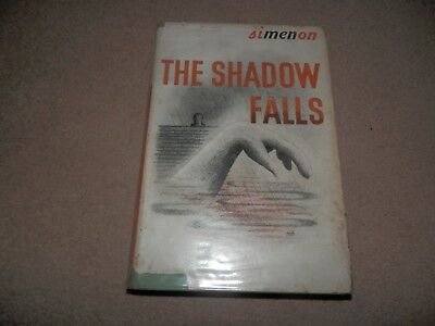 Georges Simenon The Shadow Falls 1st edition 1st print 1945 Routledge Hardback
