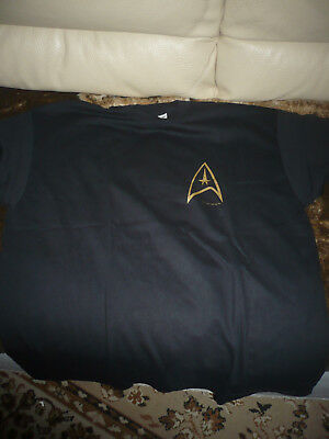 STAR TREK united federation of planets t-shirt XL RARE OOP original NEW!!