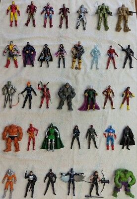 "Marvel Universe 3.75"" Lot of 35 Figures"