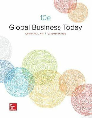 [PDF] Global Business Today 10th Edition by Charles W. L. Hill Dr (PDF)
