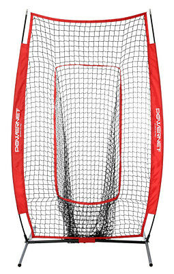 New PowerNet Infielder Net 1040, portable baseball/softball infield practice net