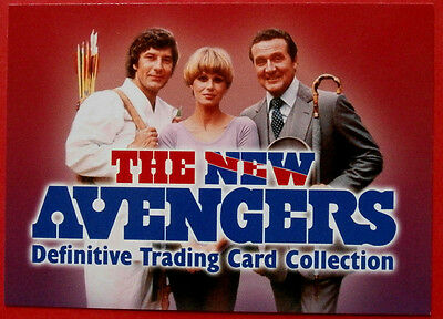 THE NEW AVENGERS - Card#01 - Header Card  - Strictly Ink 2006
