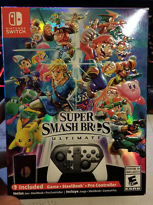 Super Smash Bros Ultimate Special Edition - BOX ONLY - Nintendo Switch