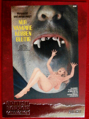 BRITISH HORROR COLLECTION - LUST FOR A VAMPIRE - SUZANNA LEIGH - FOIL Card F14