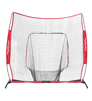 New PowerNet 8x8 XLP PRO 1026, Portable Baseball and Softball Practice Hitting N