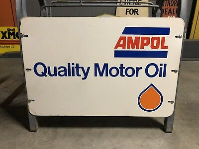 Ampol Rack Sign Oil Rack Sign