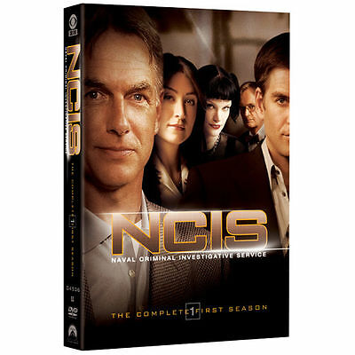 NCIS TV Series The Complete First Season DVD (2006, 6-Disc Set) *New, Free Ship*