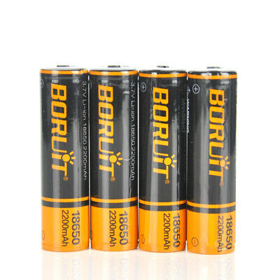 10X Genuine 4000mAh Rechargeable 18650 3.7V Li-ion Batteries For Headlamp Torch