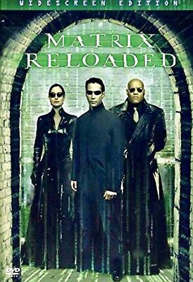 The Matrix Reloaded *Brand New Factory Sealed(DVD, 2003, 2-Disc Set, Widescreen)