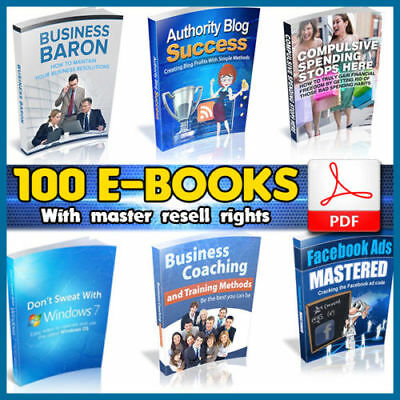 Important100 eBooks Package Collection | Pdf Format | With Master Resell Rights